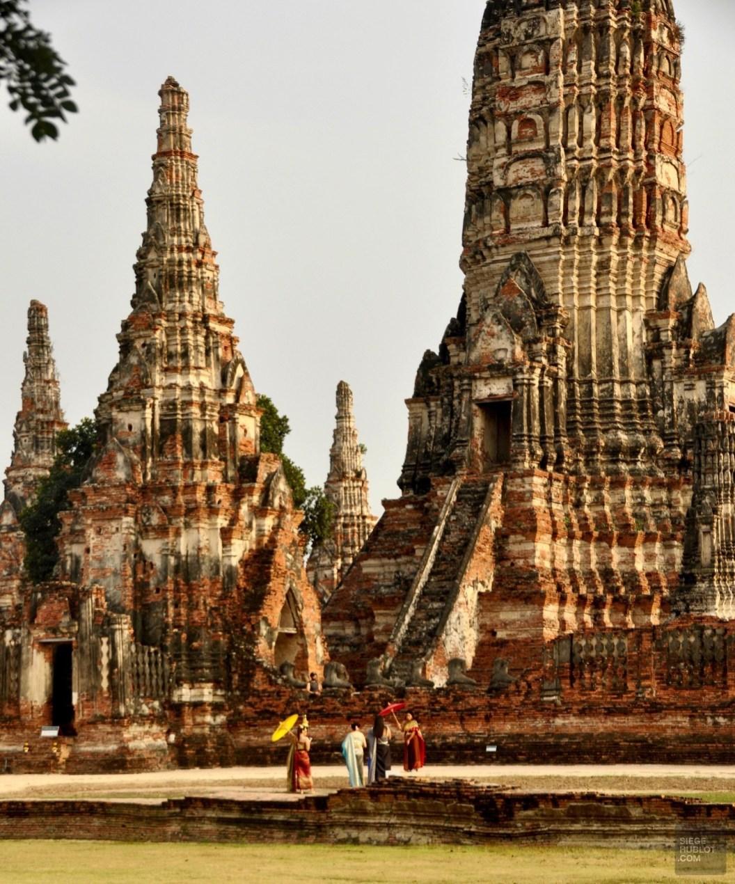 Wat Chai Watthanaram - Les Temples (Wat) - Le parc historique d'Ayutthaya - Destination, Asie, Thaïlande