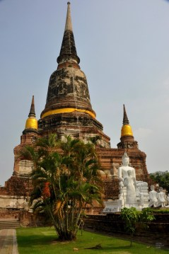 Le grand monastère de la victoire - Les Temples (Wat) - Le parc historique d'Ayutthaya - Destination, Asie, Thaïlande