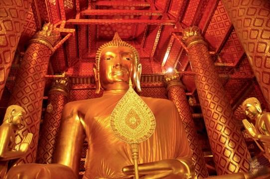 Phra Buddha Trai Rattana Nayaka - Les Temples (Wat) - Le parc historique d'Ayutthaya - Destination, Asie, Thaïlande