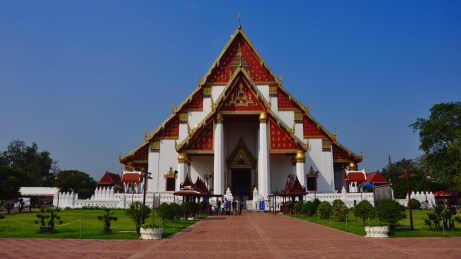 Viharn Phra Mongkhol Bophit - Les Temples (Wat) - Le parc historique d'Ayutthaya - Destination, Asie, Thaïlande