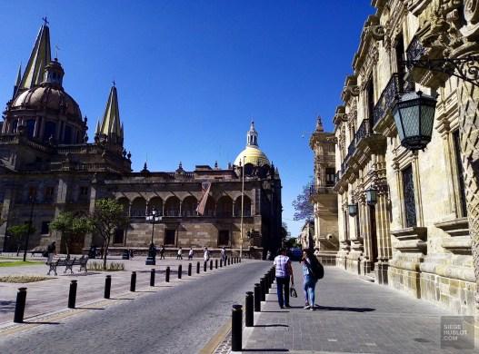 Centro Historico - Architecture coloniale - Tout ça à Guadalajara - Destination, Amérique du Nord, Mexique