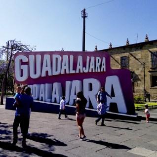 Signe à Liberation Square - Guadalajara, Mexique - Tout ça à Guadalajara - Destination, Amérique du Nord, Mexique