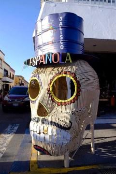 Le squelette - Village de Tlaquepaque - Tout ça à Guadalajara - Destination, Amérique du Nord, Mexique
