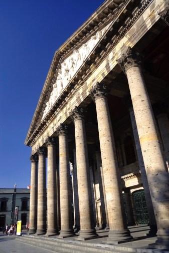 Teatro Degollado - Architecture coloniale - Tout ça à Guadalajara - Destination, Amérique du Nord, Mexique