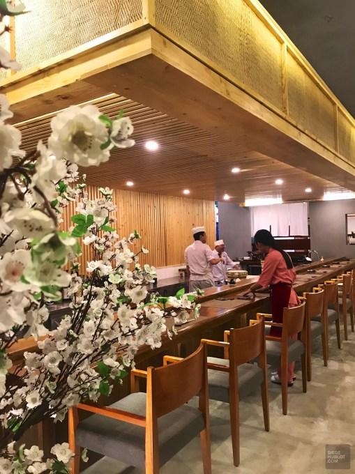 Cerisier et sobriété - SUSHI-Bê - 12 Restos Coups de Coeur à DaNang - Destination, Asie, Vietnam, Restos