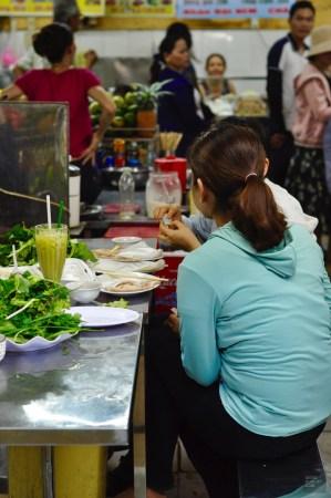 Manger au marché - DaNang, Vietnam - 12 Restos Coups de Coeur à DaNang - Destination, Asie, Vietnam, Restos