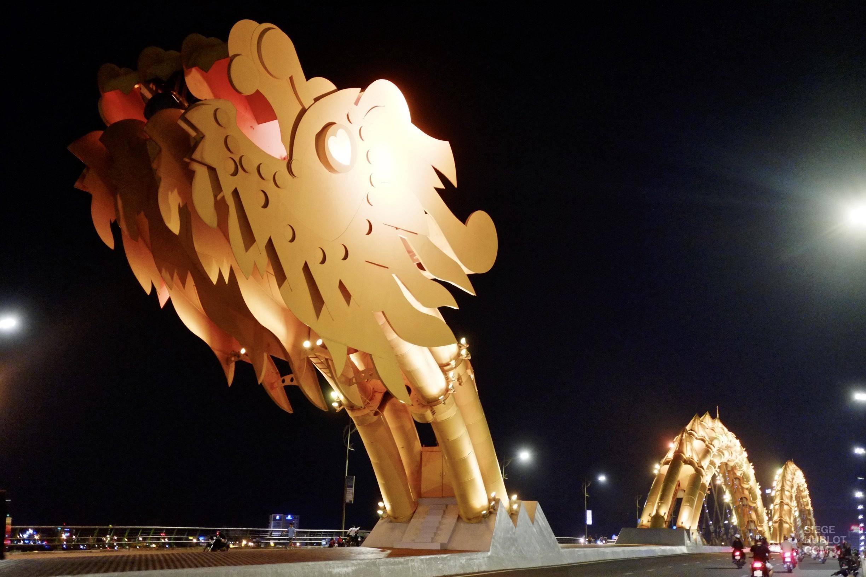 Le pont dragon - 12 Restos Coups de Coeur à DaNang - Destination, Asie, Vietnam, Restos