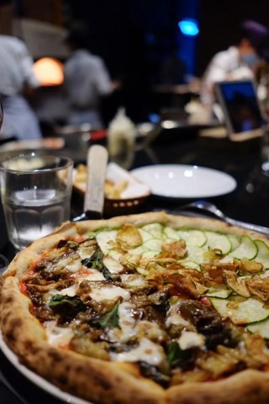 Zucchinis et aubergines - Pizza 4P's - 12 Restos Coups de Coeur à DaNang - Destination, Asie, Vietnam, Restos