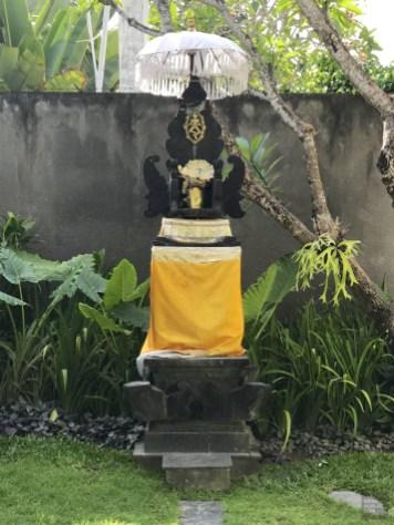 Autel hindouiste pour offrandes - Villa Issi - Vivre le rêve à Bali - Asie, Indonésie, Hôtels