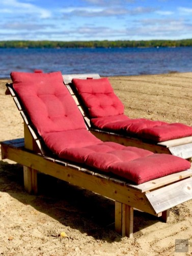 Chaises longues - Auberge du Lac Taureau - Amérique du Nord, Canada, Québec, Lanaudière, À haire, Hôtels, Roadtrip
