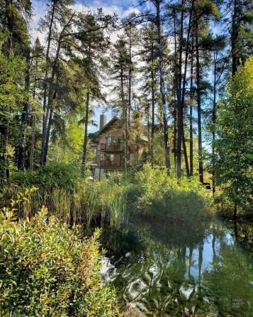 L'étang - Auberge du Lac Taureau - Amérique du Nord, Canada, Québec, Lanaudière, À haire, Hôtels, Roadtrip