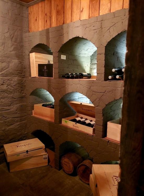 Les voûtes de la cave à vin - L'Expérience - Le Manoir Maplewood - Amérique du Nord, Canada, Québec, Cantons-de-l'Est, Hôtels