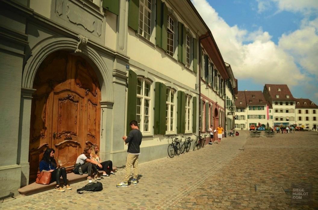 Mentelin Hof - Quartier historique et monuments importants - Bâle, une ville au coeur de trois pays - Destination, Europe, Suisse