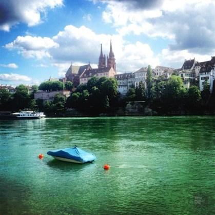 Traversée par le Rhin - Bâle, Suisse - Bâle, une ville au coeur de trois pays - Destination, Europe, Suisse