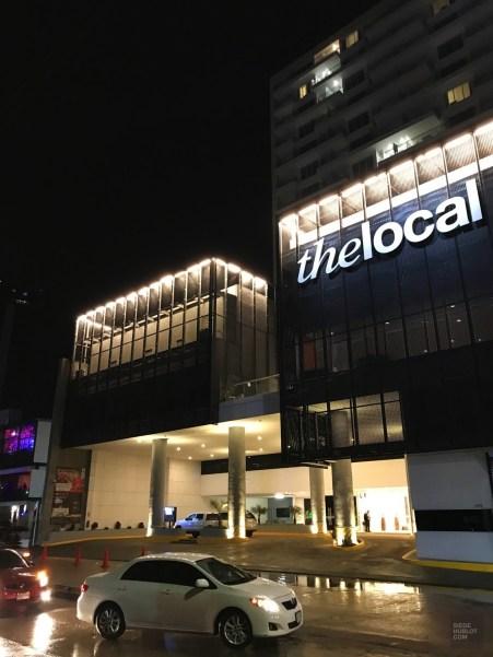 La façade de nuit - Nouvel hôtel design - à Mazatlan - Amérique du Nord, Mexique