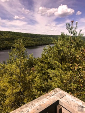 Belvédère - vue sur l'Ontario - Témiscaming - Une virée en Abitibi-Témiscamingue - Amérique du Nord, Canada, Québec