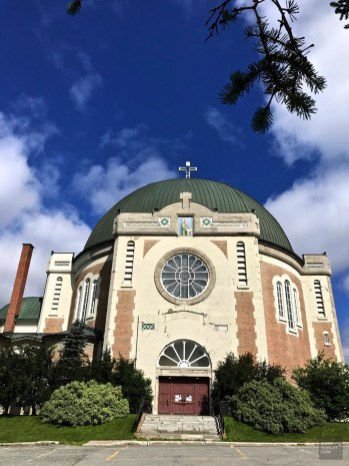 Cathédrale Ste-Thérèse d'Avila - Amos - Une virée en Abitibi-Témiscamingue - Amérique du Nord, Canada, Québec