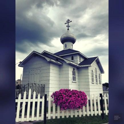 Église russe - La Vallée-de-l'Or - Une virée en Abitibi-Témiscamingue - Amérique du Nord, Canada, Québec