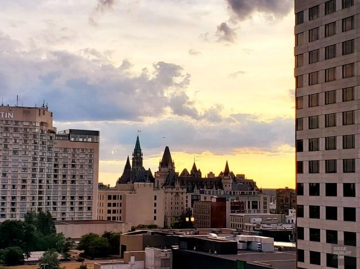 Vue sur le parlement - Ottawa - Une virée en Abitibi-Témiscamingue - Amérique du Nord, Canada, Québec