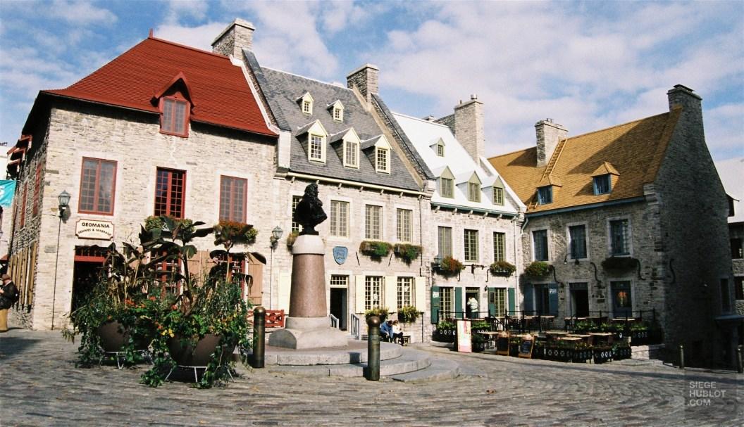 La Place Royale - Les services - L'hôtel 71 dans le Vieux-Québec - Québec, Canada
