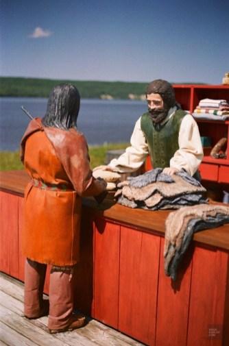 Poste de traite - Ville-Marie et Duhamel-Ouest - Une virée en Abitibi-Témiscamingue - Amérique du Nord, Canada, Québec