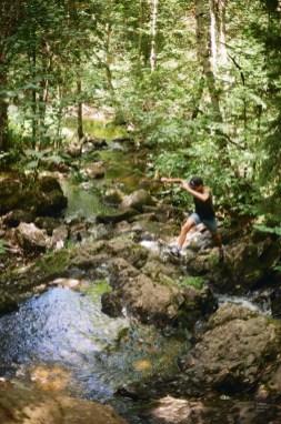 Se rafraichir - Mont-Brun et Nédélec - Une virée en Abitibi-Témiscamingue - Amérique du Nord, Canada, Québec