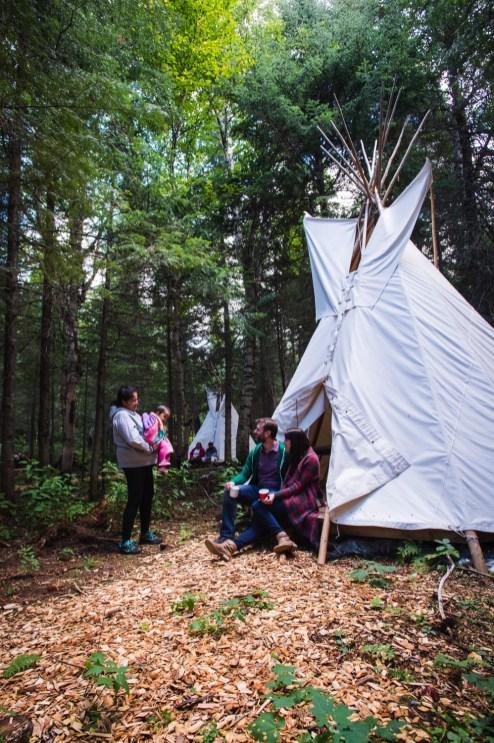 Site culturel Kinawit - La Vallée-de-l'Or - Une virée en Abitibi-Témiscamingue - Amérique du Nord, Canada, Québec