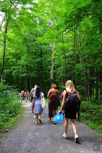 Visite de la ferme - L'Érablière du Sanglier - Une journée dans les Basses-Laurentides - Amérique du Nord, Canada, Québec, Laurentides