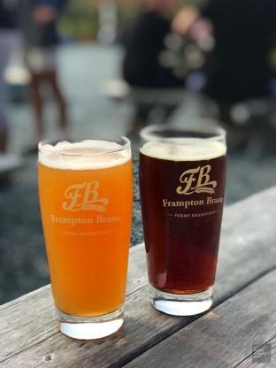 Bière rouge acidulée et blanche allemande - Frampton Brasse - Balade en Beauce - Amérique du Nord, Canada, Québec, Chaudière-Appalaches