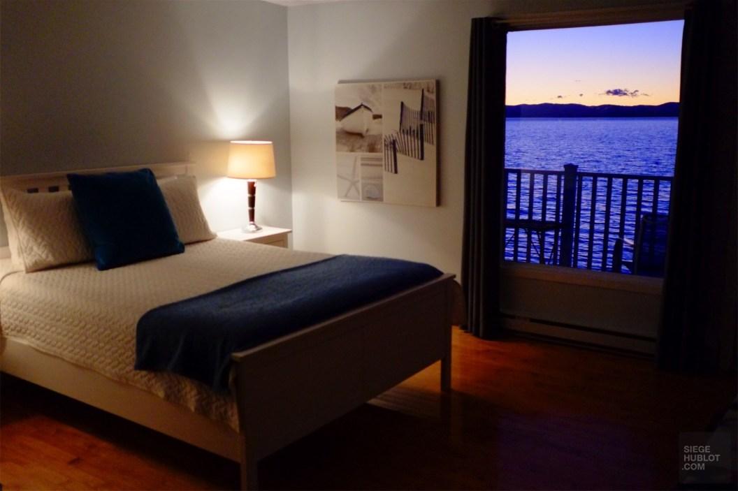 Chambre avec vue - Hôtel Lévesque - Un épicurien à Rivière-du-Loup - Amérique du Nord, Canada, Québec, Bas St-Laurent