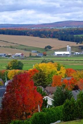 Les éoliennes - Quelques idées supplémentaires - Balade en Beauce - Amérique du Nord, Canada, Québec, Chaudière-Appalaches