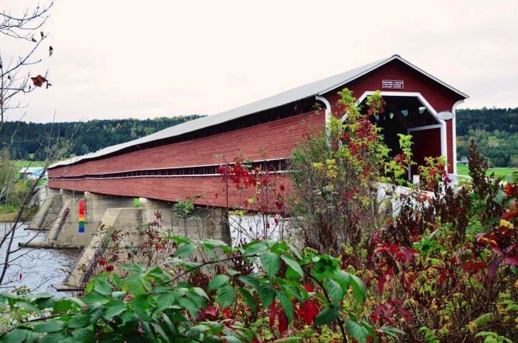 Pont couvert - Quelques idées supplémentaires - Balade en Beauce - Amérique du Nord, Canada, Québec, Chaudière-Appalaches
