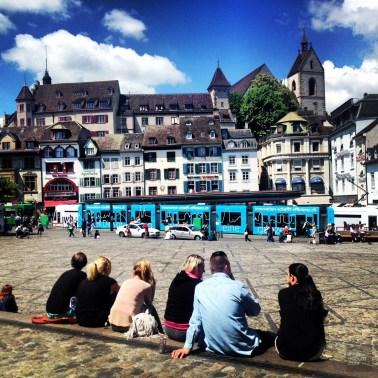 Ville de Bâle - Un café à la Jura, l'excellence à la Suisse! - Europe, Suisse