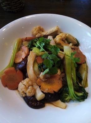 Sauté de légumes - Et plus encore! - Les meilleurs restaurants végétariens - Vietnam, Asie