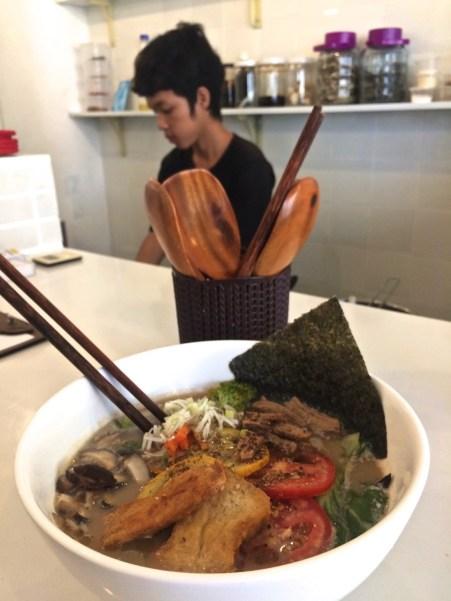 Shoyu - The Vegan Ramen - Les meilleurs restaurants végétariens - Vietnam, Asie