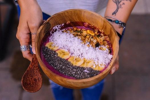 Bol de smoothie - Roots Plant-Based Café - Les meilleurs restaurants végétariens - Vietnam, Asie