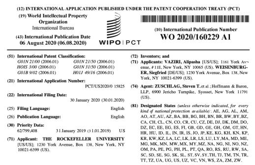 Patent on Hybrid multi-photon microscopy