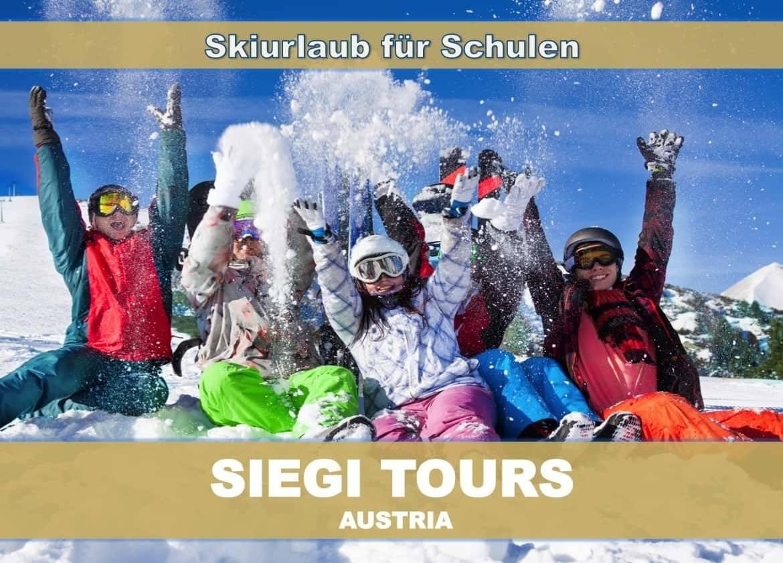 Siegi Tours Skiurlaub für Schulen