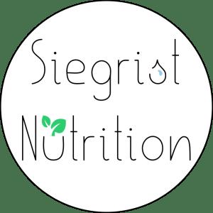 Siegrist Nutrition - logo