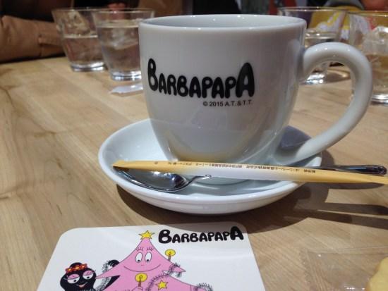バーバパパカフェ