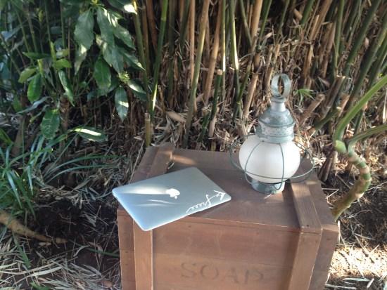 ランドでMacBookAir