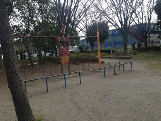 出羽公園の小さな遊具
