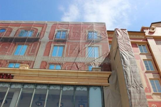 ミラコスタ外壁補修工事