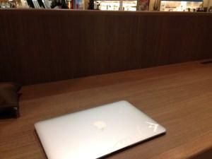 スタバでMacBookAir