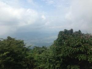 筑波山山頂からの画像