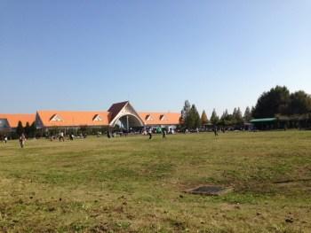 【道の駅アグリパークゆめすぎと】自転車の練習ができて子供が喜ぶふわふわドームがある