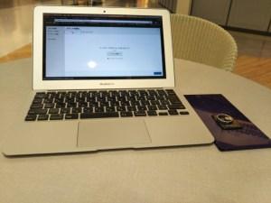 MacBookAirとXperia
