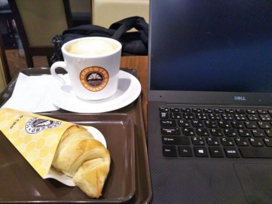 サンマルクのカフェラテ