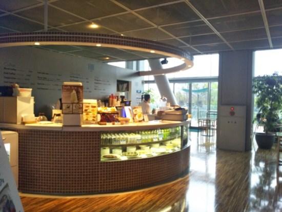 パナソニックセンターのカフェ