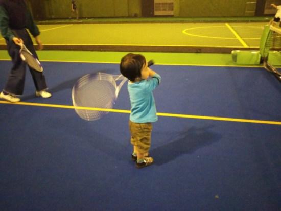スポッチャのテニス
